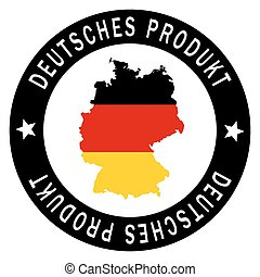 "Patch "" Deutsches Produkt """