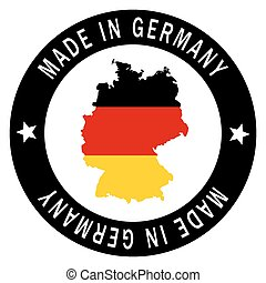 "Patch "" Made in Germany """
