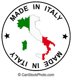 "Patch "" Made in Italy """