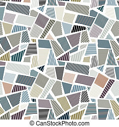 Patches seamless texture, vector background.