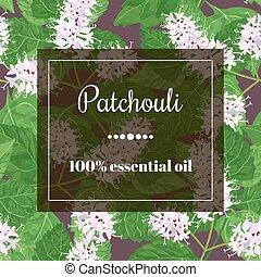 patchouli essential oil - Patchouli 100 essential oil. ...