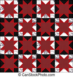 Patchwork abstract pattern texture geometric background
