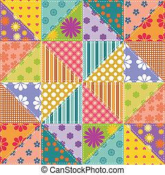 patchwork background