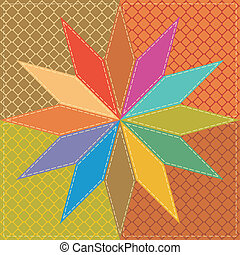 patchwork background - patchwork background with decor...