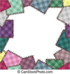 patchwork, cadre