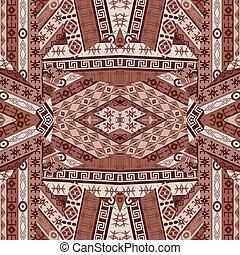 patchwork, conception, ethnique
