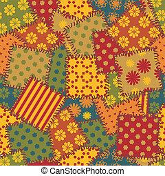patchwork, fundo