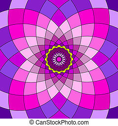 Patchwork Mandala Ornament Pattern Floral Drawing