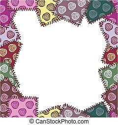patchwork, quadro