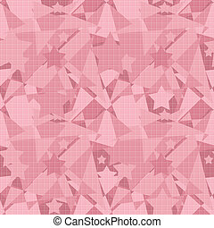 Patchwork seamless abstract modern pattern stars background