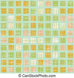 patchwork squares geometric seamless vector pattern in pastel colors