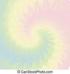 Pastel Easter Colors Tie Dye Background in Pink Blue, Green Yellow Orange Swirls for Sublimation Designs