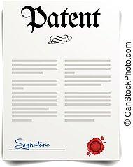 Patent Letter