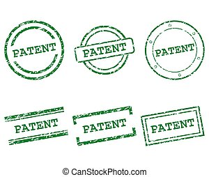 Patent stamps