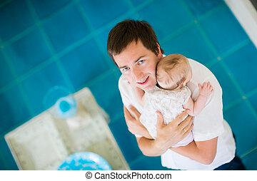 paternidad, feliz