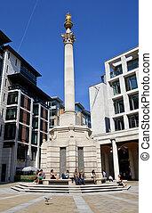Paternoster Column in London