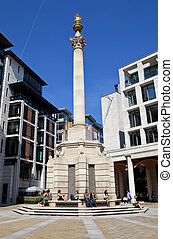 Paternoster Column in London