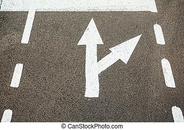 indicators on the ground