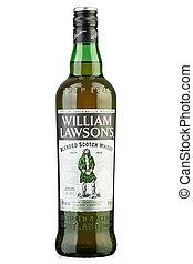 path., archivo, scotland., escocés, william, contiene, mezclado, recorte, lawson's, whisky