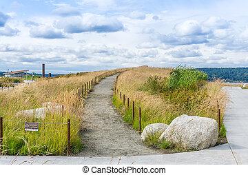 Path at Tacoma Park