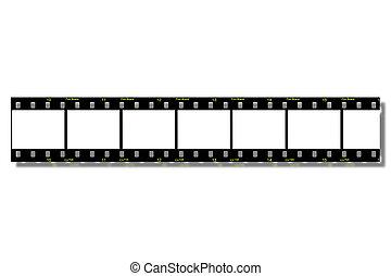 path), film, stroken, (clip