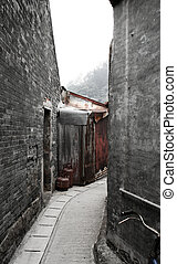 Path of old town in Hong Kong