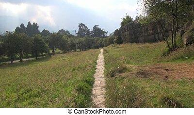Path, Pathway, Brick, Ground, Walking