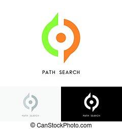 Path search logo