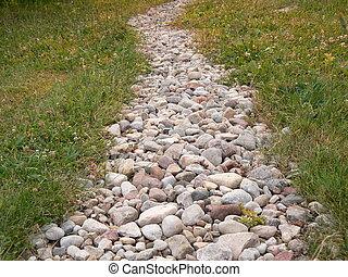 path - stony path
