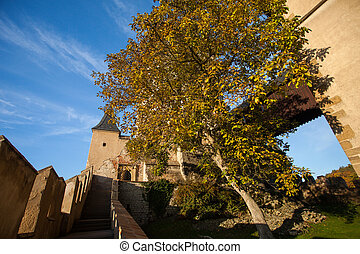 Path to ancient castle - The path leads to ruinous castle,...