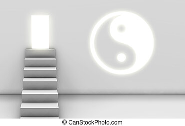 Path to Enlightenment with a Yin Yang Spiritual