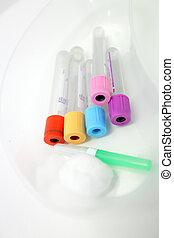 Pathology blood collecting tubes