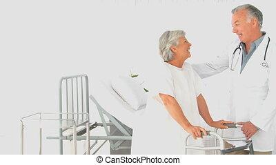 patiënt, klesten, arts, zijn