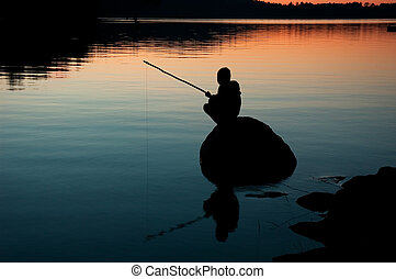 Patience - fishing
