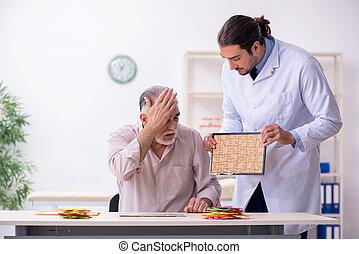 patient, docteur, maladie, alzheimer, souffrance