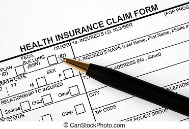 Patient fills in the claim form