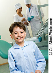 patient, glücklich