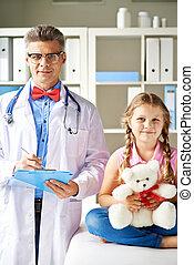patient, kliniker