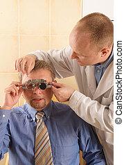 patient, opticien