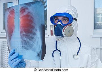 patient, poumons, image