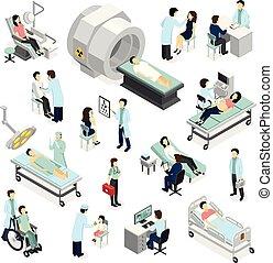 patienten, doktoren, klinik