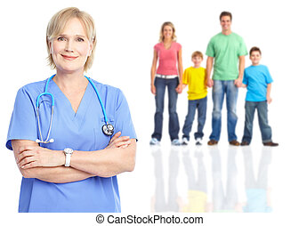 patients., 家族 医者