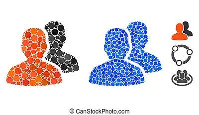 Patients Composition Icon of Spheric Items - Patients ...