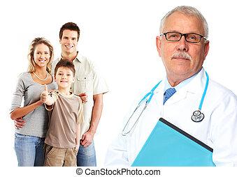 patients., medizin, hausarzt