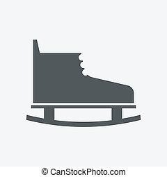 patinage, icône