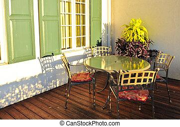 patio meubilair