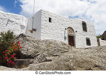 Patmos island in Greece - Cave of Apocalypse were Saint...