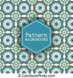 patrón, 2912, retro, plano de fondo