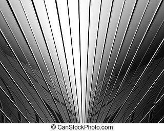 patrón, aluminio, raya, plano de fondo