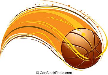 patrón, baloncesto